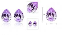 65% off Tear Stud Crystal Earrings ($3.5 instead of $10)