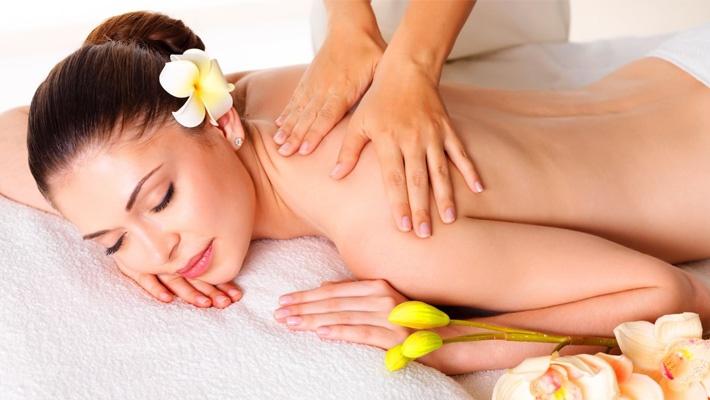 Girl Gets Full Body Massage