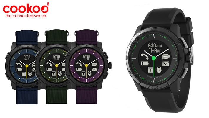 7155e1e23381 41% off Cookoo 2 Smart Watch from M2 ( 106 instead of  179)