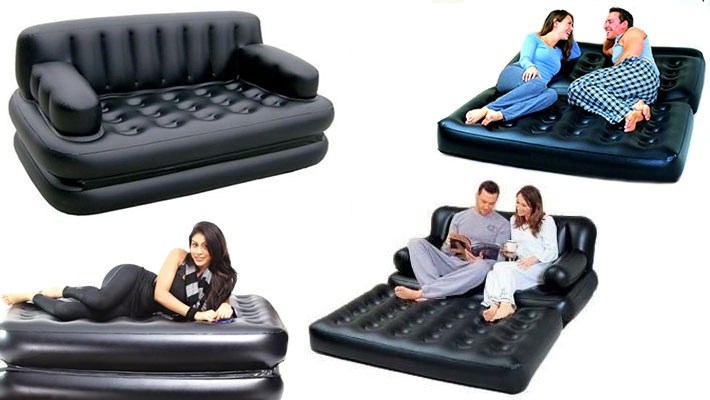 5 In 1 Inflatable Sofa Bed Gosawa Beirut Deal