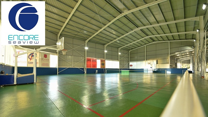 the best attitude 29631 e9e51 50% off Football   Basketball Courts Rental at Encore Seaview ( 33 instead  of  66)