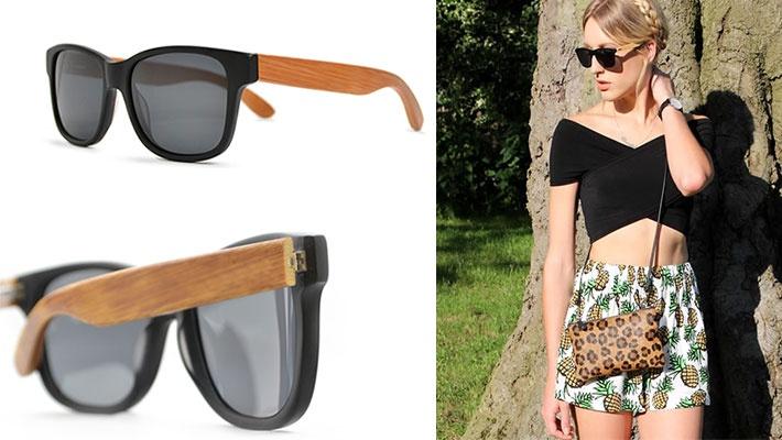 e9832e9e8e 50% off Unisex Wood Style Sunglasses ( 7.5 instead of  15)